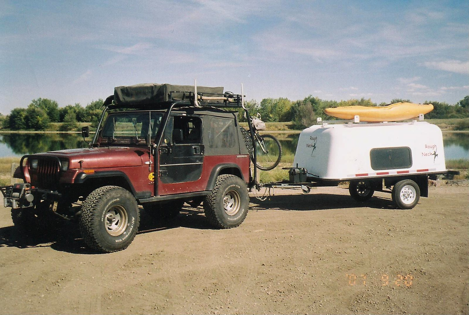 Rough Neck Camping Trailer